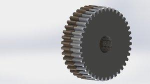 gear spur 3D