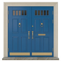 Entrance classic door 18