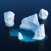 Icebergs collection