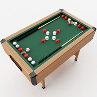 bumper pool table 3D model