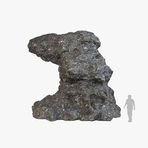 rock v4 3D model