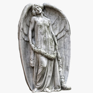 3D angel big wings