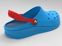 Crocs Shoes 3D model