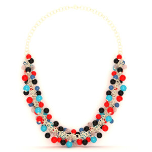 3D jewelry necklace pearls