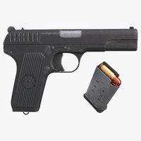 TT-33 Pistol Gun