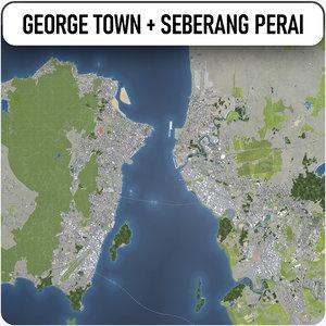 george town - seberang model