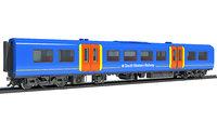British Train Passenger Coach Car