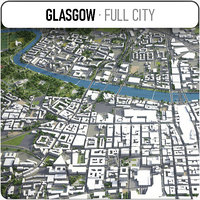 Glasgow - city and surroundings