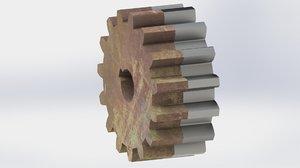 3D gear new spur