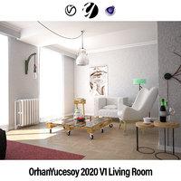 OrhanYucesoy 2020 V1 Living Room Cinema 4D Vray