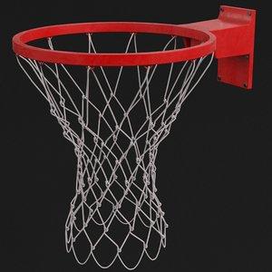 basket ring 3D model