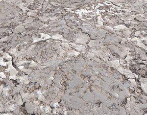 Desert Wasteland ground PBR Pack 2
