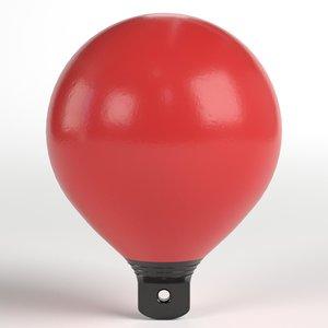 beach marker buoy 3D model