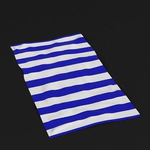 beach towel 1 model