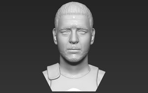 3D maximus russel crowe gladiator model