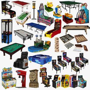 3D arcade machine 1 38 model