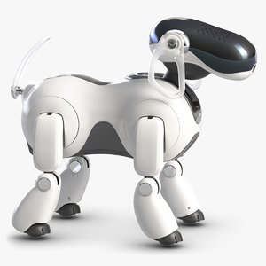 aibo robot dog 3D model