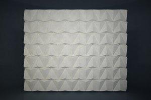 3D model pattern wall