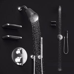 3D dornbracht selv x20767 shower model