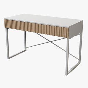 realistic desk 3D model
