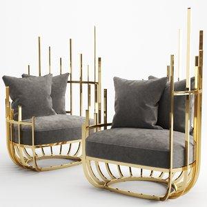 furniture armchair chair model