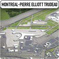 montreal-pierre elliott trudeau international 3D