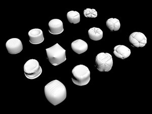 3D puff pouf pouff furniture