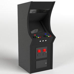 coin-op arcade machine 3D model