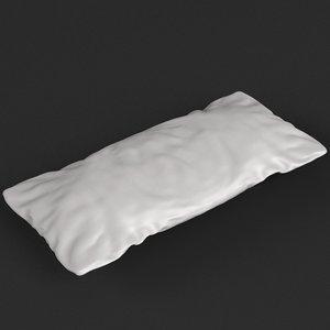 cushion pillow ready 3D model