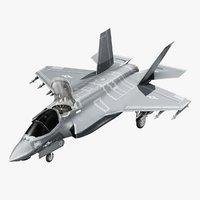 f-35 lightning ii aircraft 3D