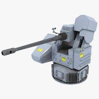 ds30m 30mm naval gun model