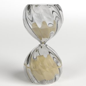 hourglass 2 3D model