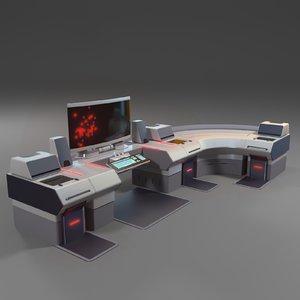 office computer 3D model