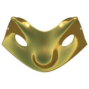 3D carnival mask 02