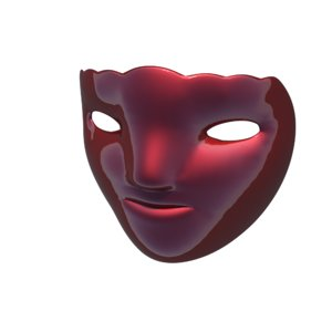 3D carnival mask 4