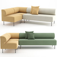 sofa eave dining 3D