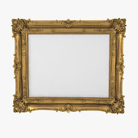 Baroque Picture Frame 17