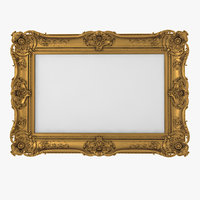 Baroque Picture Frame 18