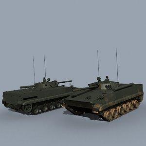 3d bmp-3 soviet russian