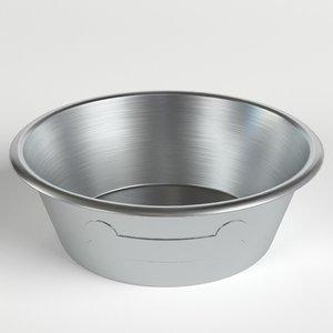 3D dog bowl 2 model
