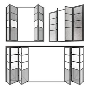 sliding doors 3D model