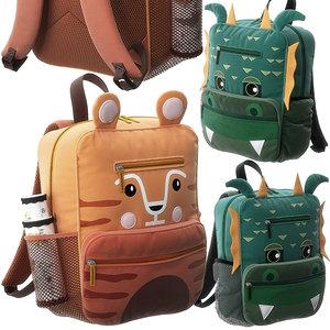 3D tiger dragon backpack model
