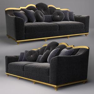 3D sofa home boulevard bacci