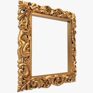 3D frame x17 cnc model