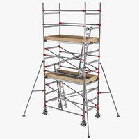 3D model scaffolding industrial construction
