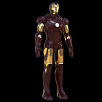 3D iron man mark 3 model
