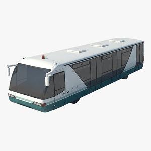 3D airliner airport airbus