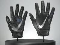 Football Gloves 3D model