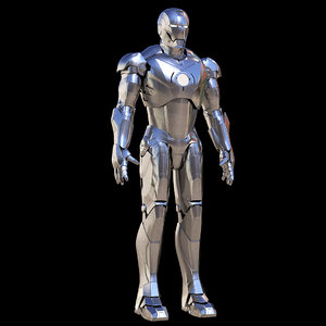 3D iron man mark 2