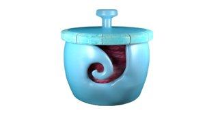 3D yarn bowl